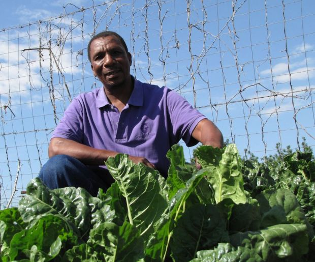 r christopher mbele and his spinach