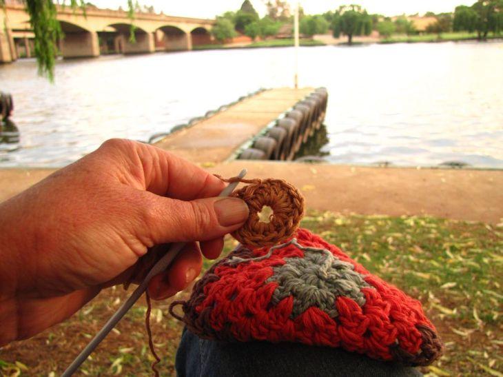 r crochet on the Vaal