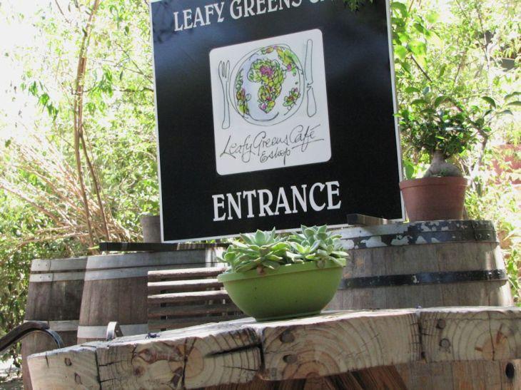 r leafy green entrance