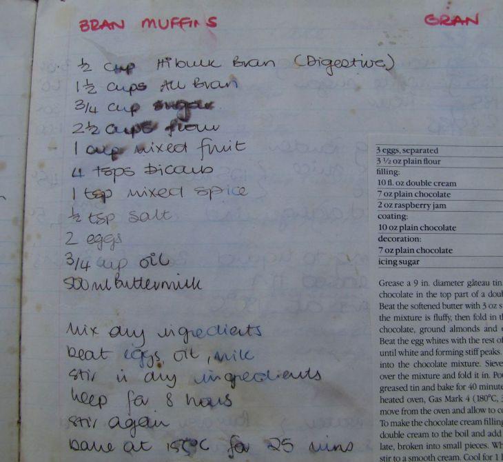 r bran muffin recipe