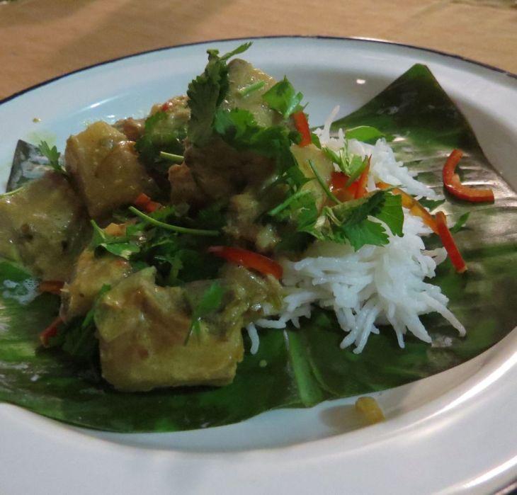r green banana curry