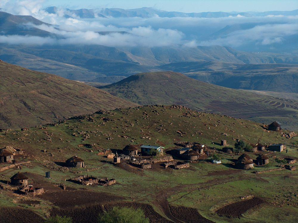 r basotho village