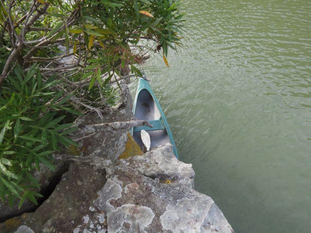 r canoe at centre rock