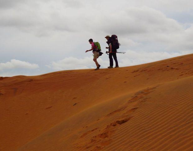 r nikki christeen red desert