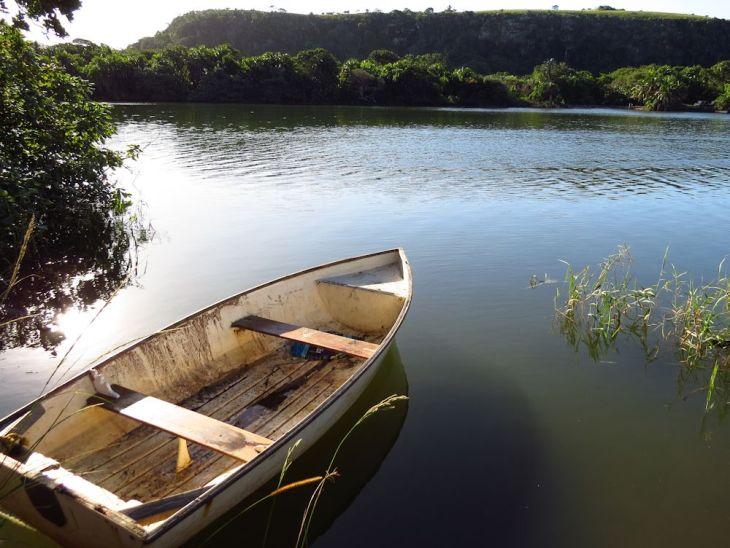 r rowing boat mzamba river