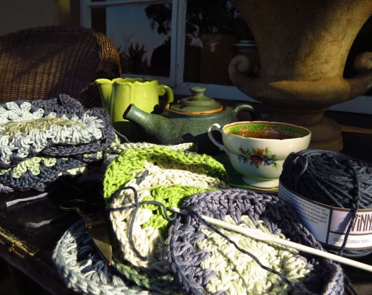 r afternoon tea crochet