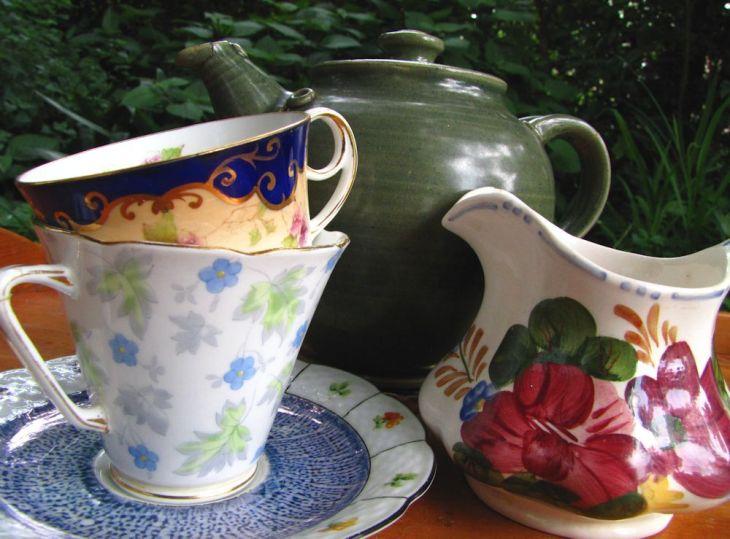 r afternoon tea tray mish mash