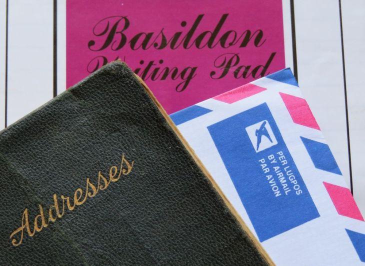 r address book letter 009