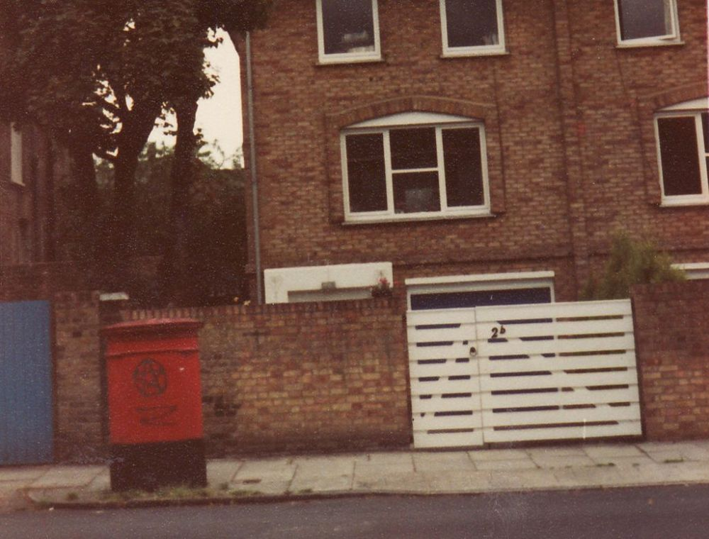 red post box london cropped