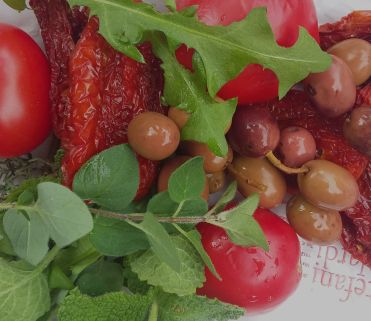 tomatoes-olives-and-foraged-herbs
