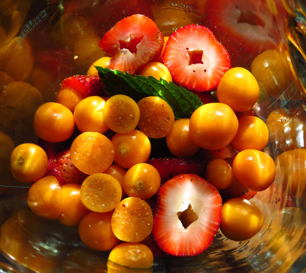 strawberry goosberry smoothie