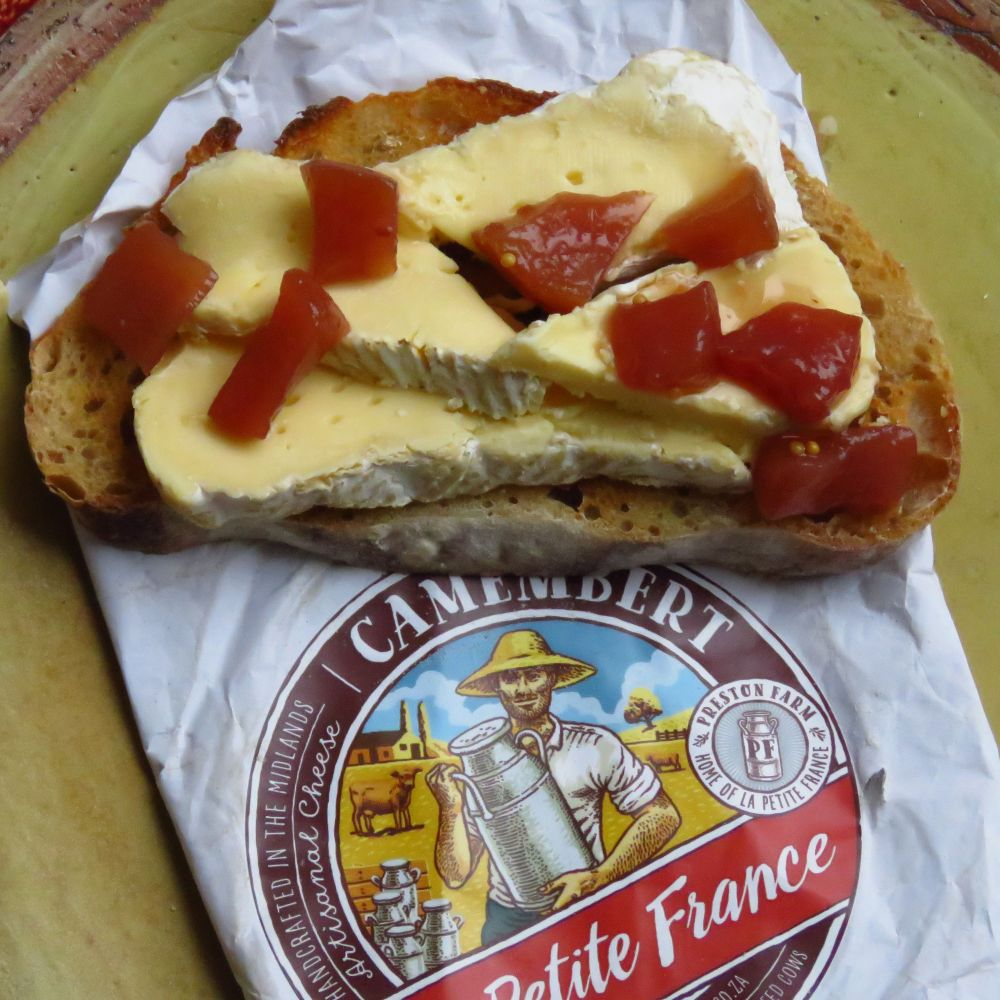 sq camembert on toast